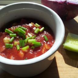 Refreshing Gazpacho Soup