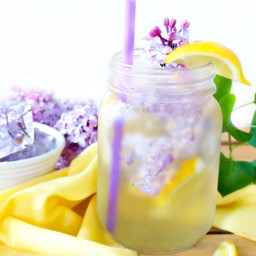 Refreshing Lilac Infused Lemonade