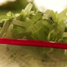 Refreshing Mint and Celery Salad
