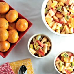 Refreshing Winter Fruit Salad