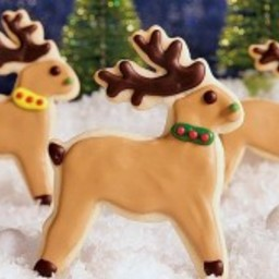 Reindeer Sugar Cookies