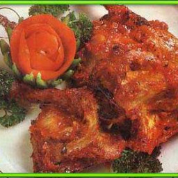 Resep Ayam Bumbu Rujak Khas Solo