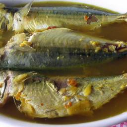 Resep Ikan Kembung Asam Pedas