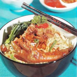 Resep Mie Ayam Ceker Spesial
