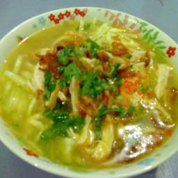 Resep Soto Bening Daging Ayam Suwir