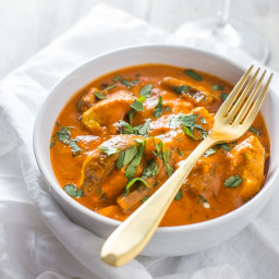 Restaurant Style Chicken Tikka Masala (Paleo, Whole30, Dairy-Free)