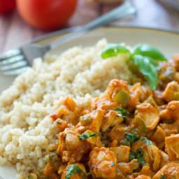 Restaurant-Style Chicken Tikki Masala