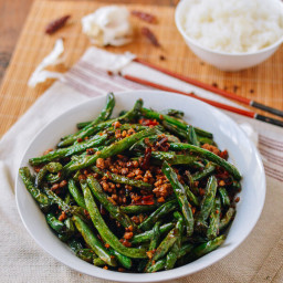 Restaurant-style Sichuan Dry Fried String Beans (干煸四季豆)