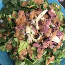 Reuben Salad Modern Low Carb