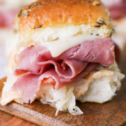 Reuben Sandwich Sliders