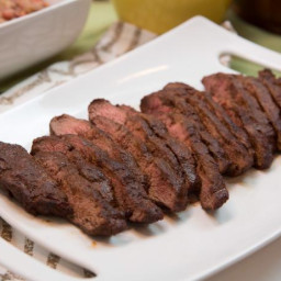Rev's Mexican Dry-Rubbed Flank Steak