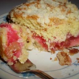 Rhubarb Coffee Cake - Scrumptious