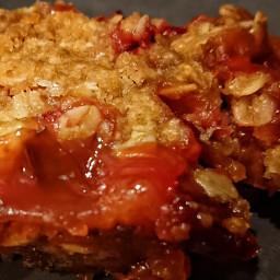 Rhubarb Crumb (Rabarberpaj)