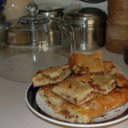 Rhubarb Kuchen Loaf