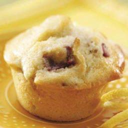 Rhubarb Lemon Muffins Recipe
