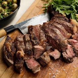 Rib-Eye Steak and Potatoes for Two