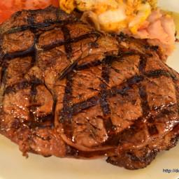 Rib Eye Steaks Grill Grates Louisiana Grill