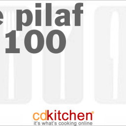 Rice Pilaf For 100