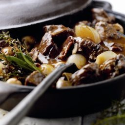 Rich Lamb and Red Wine Casserole