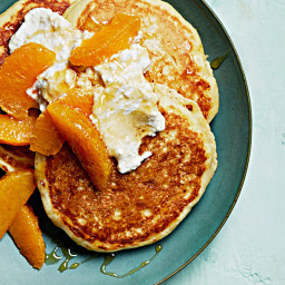 Ricotta-Cornmeal Pancakes