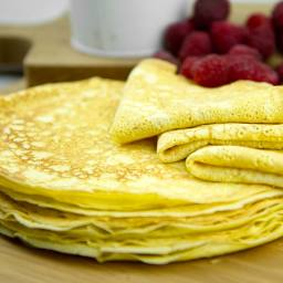 Ricotta Crepes .86g carbs
