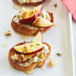 Ricotta, Gorgonzola, and Honey spread