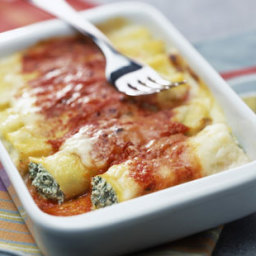 Ricotta and spinach cannelloni recipe