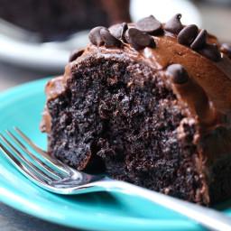 Ridiculous Chocolate Cake