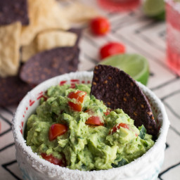Ridiculously Easy Classic Fiesta Guacamole.