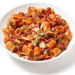 Rigatoni With Braised Giblet Sauce