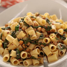 Rigatoni with Greens