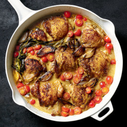 Rishia Zimmern's Chicken With Shallots