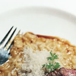 Risotto with Duck and White Balsamic Vinegar