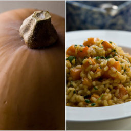 Risotto with Roasted Winter Squash