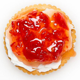 Ritz Crackers - Cream Cheese - Jelly