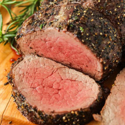 Roast Beef Tenderloin (Reverse Sear)