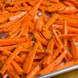 Roast carrots(side dish)