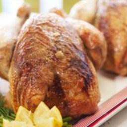 Roast Chicken with Garlic, Lemon and Smoke