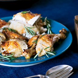 Roast Chicken with Tangerines