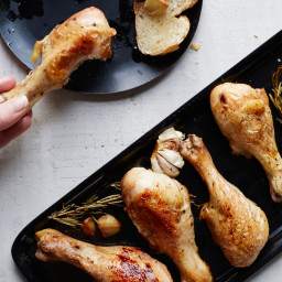 Roast Garlic-Rosemary Chicken