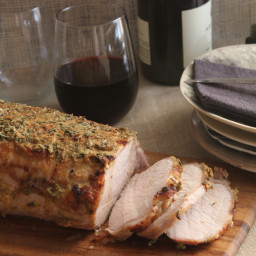 Roast Pork Loin with Rosemary