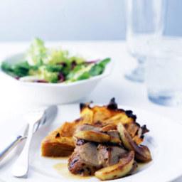 Roast Pork Tenderloin with Apples and Cider Sauce