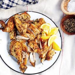 Roast Provençal Chicken recipe   Epicurious.com