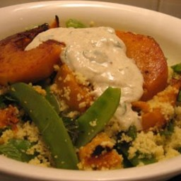 Roast Pumpkin and Couscous Salad