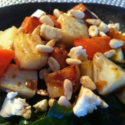 Roast Vegetable Salad with Honey and Balsamic
