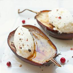 Roasted Baby Eggplant