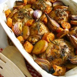Roasted Baharat Chicken