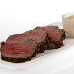 Roasted Beef Tenderloin with Basil-Curry Mayonnaise