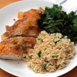 Roasted Bone-in Chicken Breast Recipe