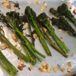 Roasted Broccolette with Garlic and Olive Oil